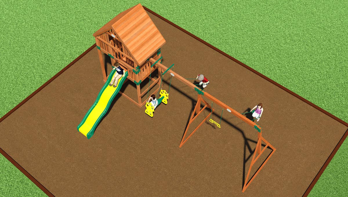 Quest Swing Set
