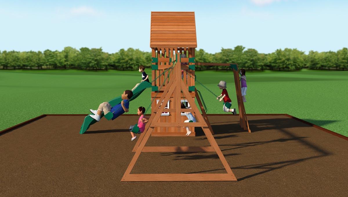 Wanderer Swing Set