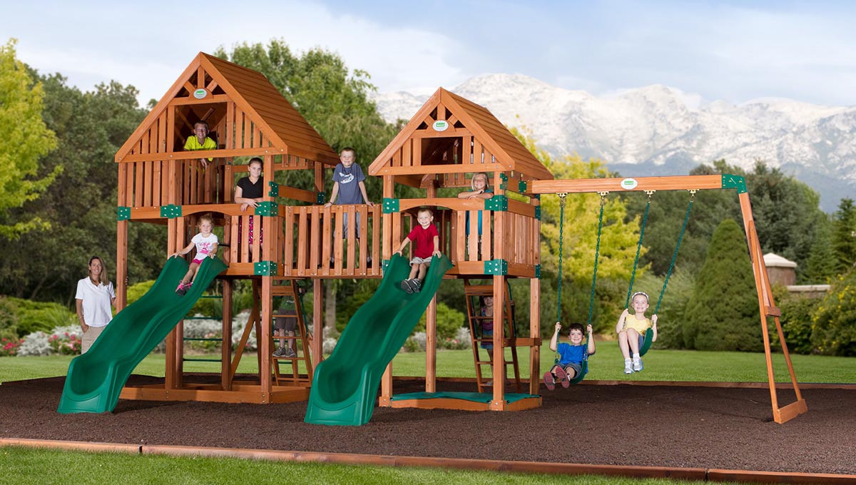 Vista Peak Swing Set