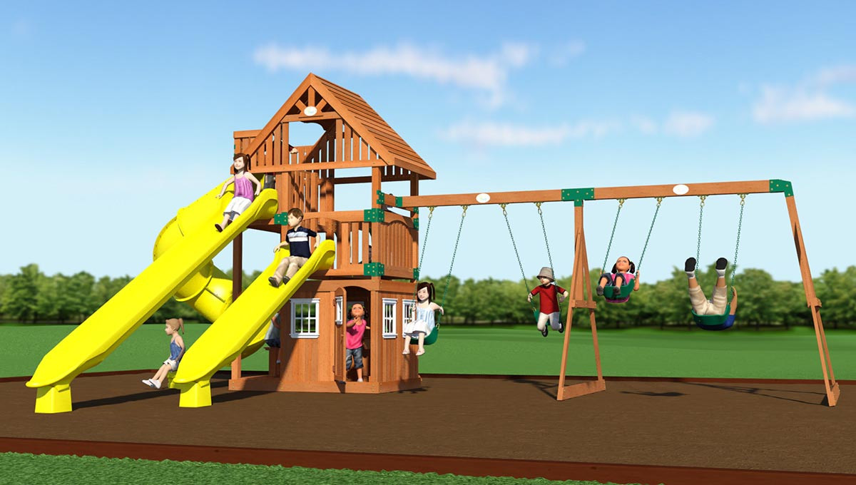 Traverse Swing Set