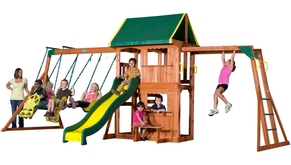 Prairie Ridge Swing Set