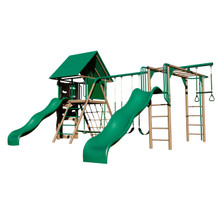 Lifetime Double Slide Deluxe Playset - Earthtone