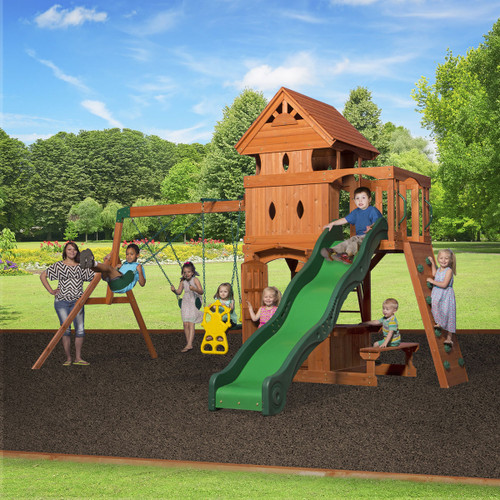 Monterey Wooden Swing Set (6012com)