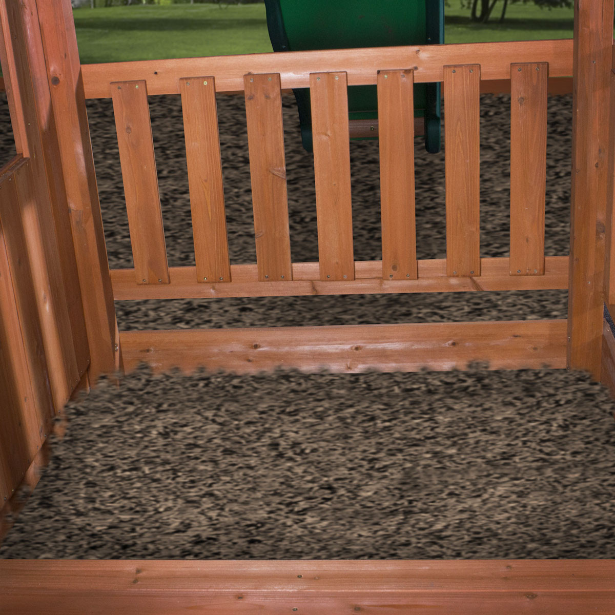 Woodridge II Wooden Swing Set (6815com)