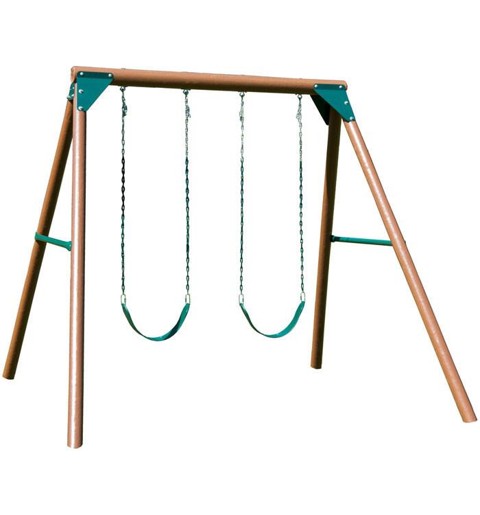 Equinox Wooden Swing Set (PB-8329)