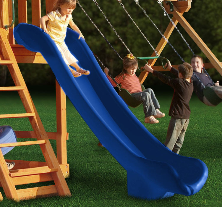 Super Straight Scoop Slide (03-0005) - Blue
