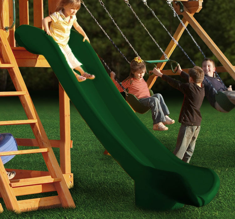 Super Straight Scoop Slide (03-0005) - Green