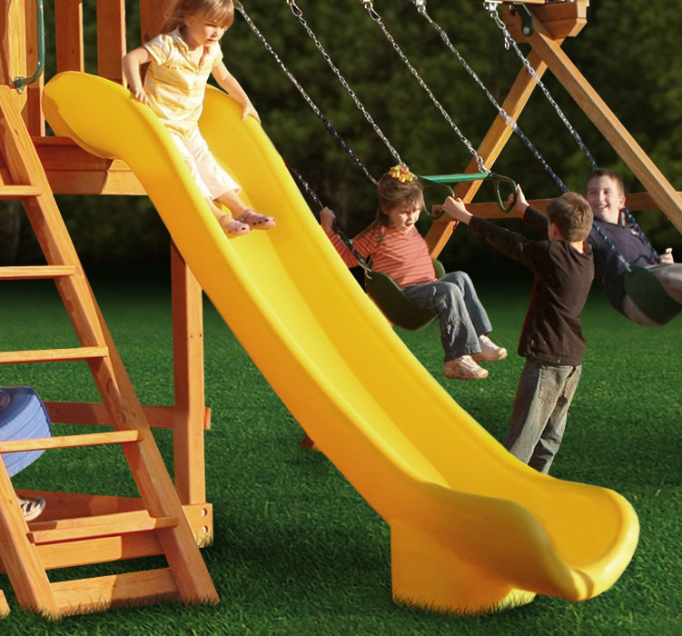 Super Straight Scoop Slide (03-0005) - Yellow
