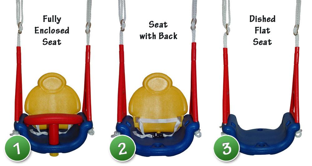 3-way Convertible Swing Seat