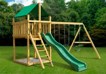 Discovery Fort with Swing Set DIY Kit (28-2001)