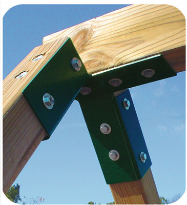 Swing Beam A Frame End Bracket Swingsetmall Com