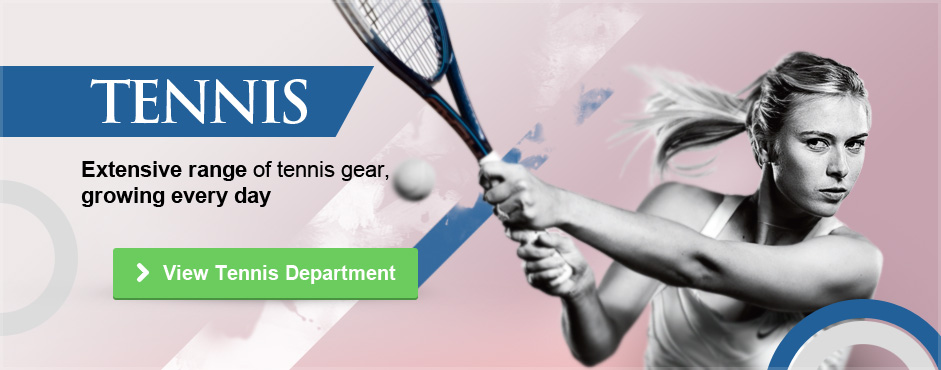 Extensive Range of Tennis Gear