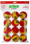 Prince Play + Stay Junior Tennis Balls Foam Stage 3 Dozen