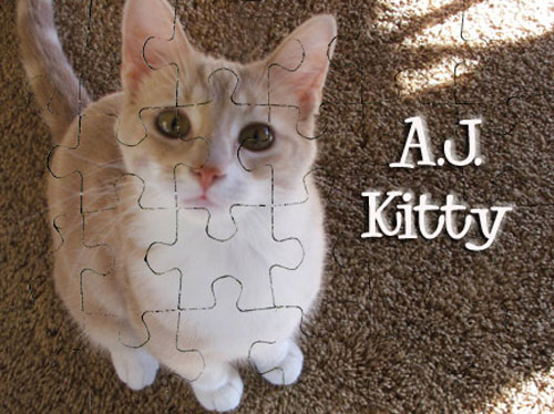 Add some text to your Personalized Puzzle