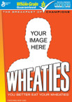 Add your Loved Ones Image to the front of a Personalized Wheaties Box