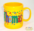 Personalized Name Mug for Thomas