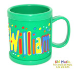Personalized Name Mug for William