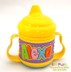 Custom Personalized Name Sippy Cup for Alexa