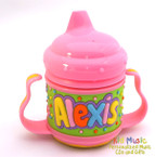 Personalized Name Sippy Cup for Alexis