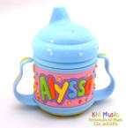 Personalized Name Sippy Cup for Alyssa