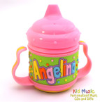 Custom Personalized Name Sippy Cup for Angelina