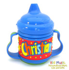 Personalized Name Sippy Cup for Christian