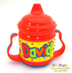 Personalized Name Sippy Cup for David