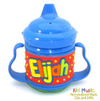 Personalized Name Sippy Cup for Elijah