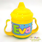 Custom Personalized Name Sippy Cup for Eva