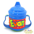 Personalized Name Sippy Cup for Evan