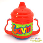 Personalized Name Sippy Cup for Gavin