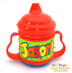 Custom Personalized Name Sippy Cup for Jason