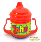 Custom Personalized Name Sippy Cup for John