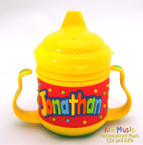 Personalized Name Sippy Cup for Jonathan