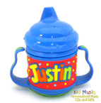 Personalized Name Sippy Cup for Justin