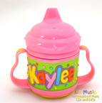 Personalized Name Sippy Cup for Kaylee