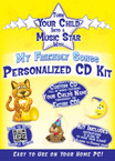 My Friendly Songs Personalized CD Kit