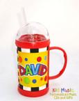 Deluxe Name Mug for David