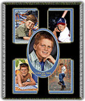 "Personalized Blanket with a Collage of Photos - 54""x69"" Photo Throw"