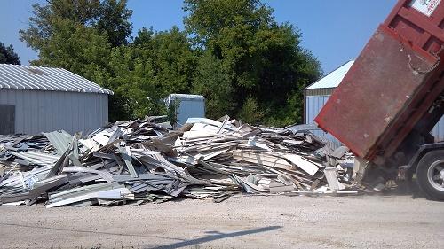 Scrap PVC for habitat