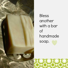 Bless another with a bar of handmade artisan soap.