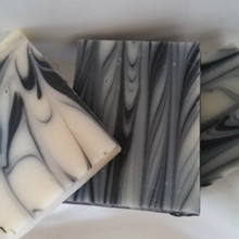 Wintermint Rustic Soap with mint and Activated Charcoal