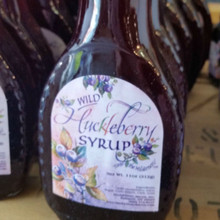 Wild Huckleberry Syrup, 11 oz.