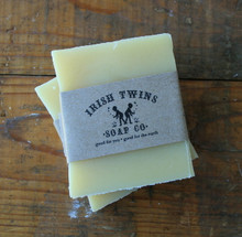 Lemon Verbena Rustic Aromatherapy Soap made with coconut oil + lemon verbena essential oil.