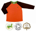 Trendy Boys Long Sleeve Raglan T Shirt