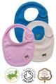 Newborn Baby Cotton Velcro Bib