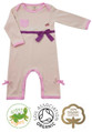 Bonnie Bow Christening Outfit Girls Baby Grow