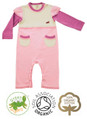 Pretty Princess Pink Girls Baby Grow