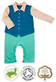 Simon Suit Baby Grow Boys Wedding Outfit