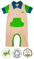 Peter Pocket Short Sleeve Boys Baby Grow